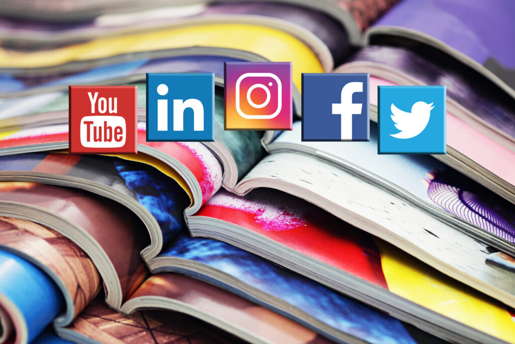 5 Reasons Print and Social Media Are New Best Friends