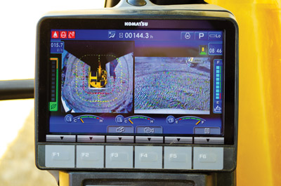 Komvision: A New Camera System for Excavator Operators