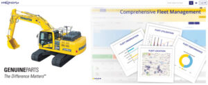 MyKomatsu Brings Together Wealth of Machine Information and Support Items