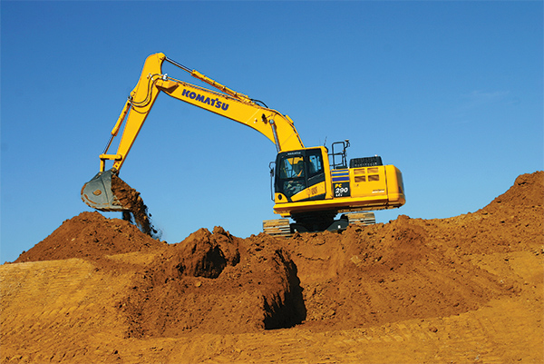 Excavator Uses 3D Design Data for More Precision