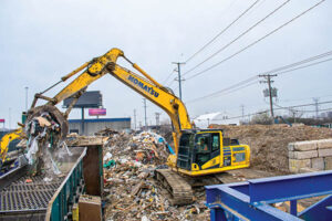 Chicago Waste Company Relies on Excavator to Boost Success