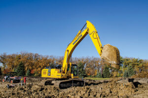 PC360 Komatsu excavator
