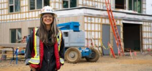 Project manager's great professional advice to young women in construction: 'Just do it'
