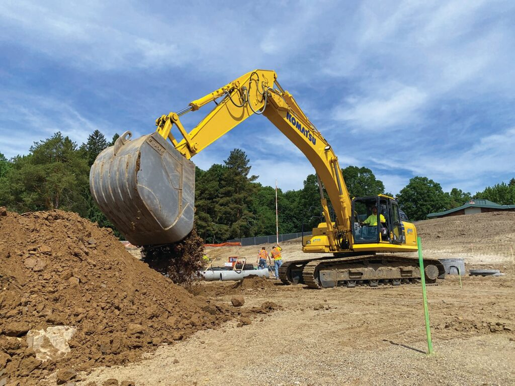 2000 Feet in 1 Day with 1 Highly Productive Excavator