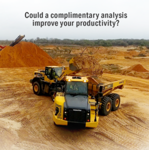 A Fleet Optimization Study from Komatsu's Business Solutions Group Could Save You Money