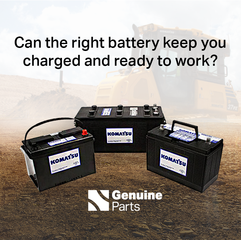 Read more about the article Komatsu Batteries Are Powerful and Durable