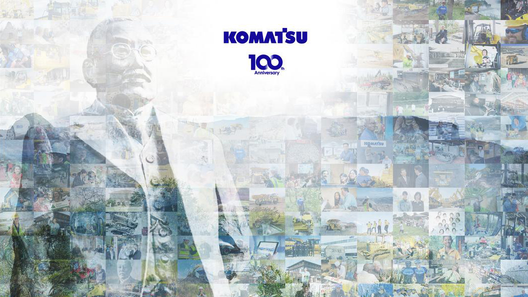 """Read more about the article Komatsu 100 years of """"Creating Value Together"""""""