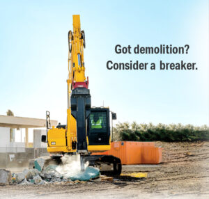 Considering a hydraulic breaker? Here are some tips for finding the right one