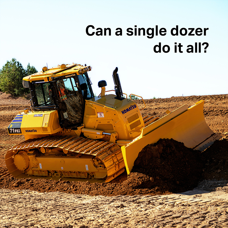 Read more about the article D71i-24: Can a single dozer do it all?